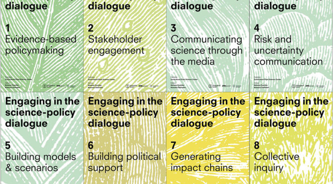 Workbooks: engaging in the science-policy dialogue