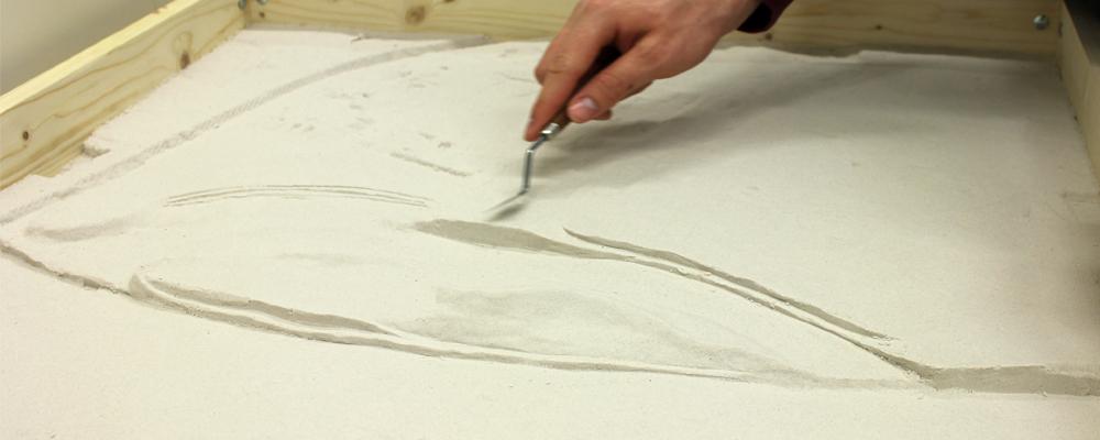 Sandmodelling graberb horberd