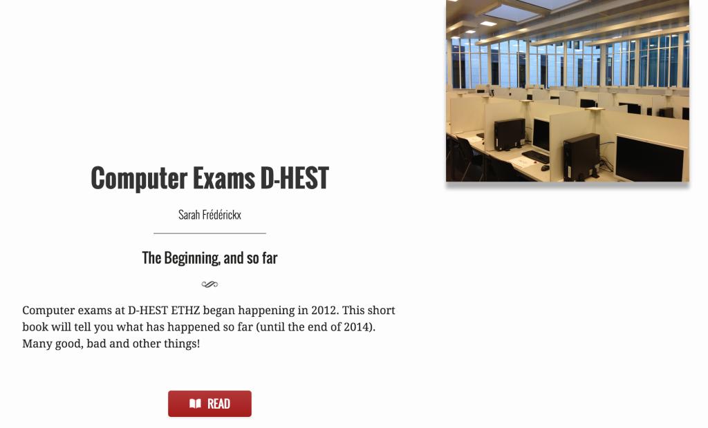 D-HEST computer exams report