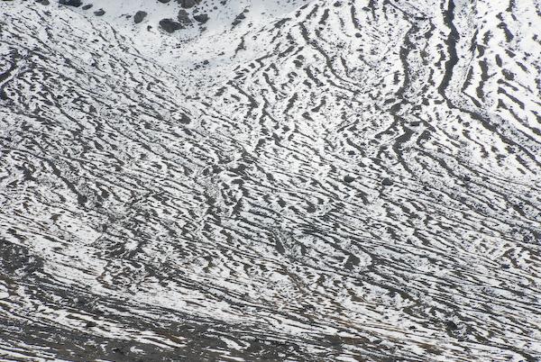 Schneefelder auf der Engstligenalp