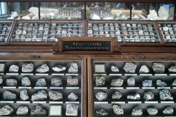 Systematische Mineraliensammlung