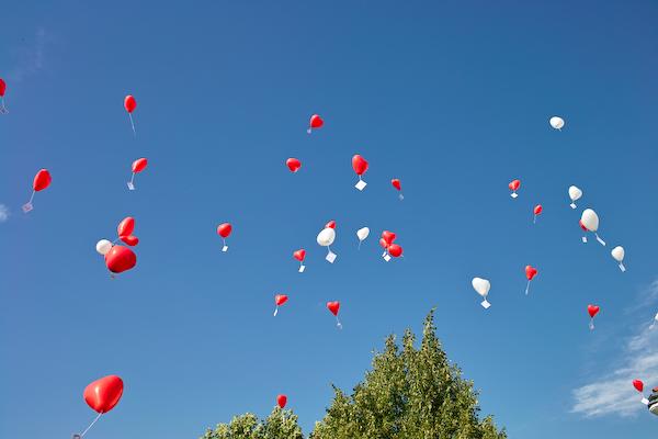 Hochzeitsballone