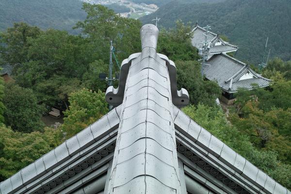 Blick von Schloss Gifu