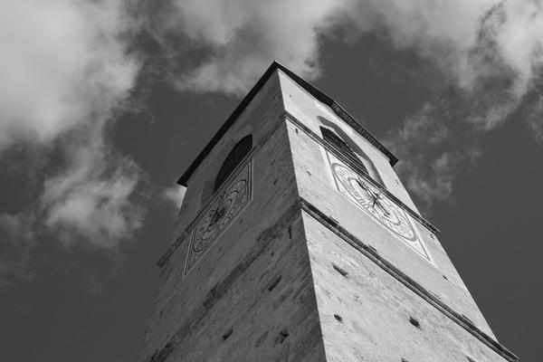 Turm der Klosterkirche Müstair