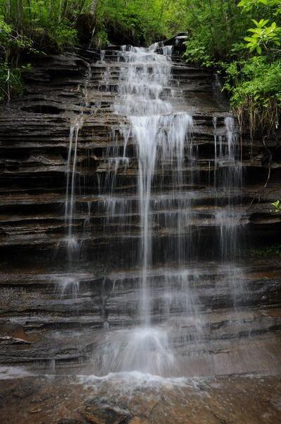 Wasserfall im Svennsdalen