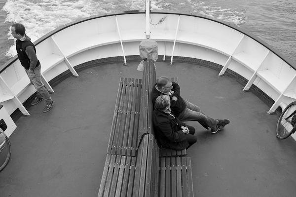 An Bord der Zürich