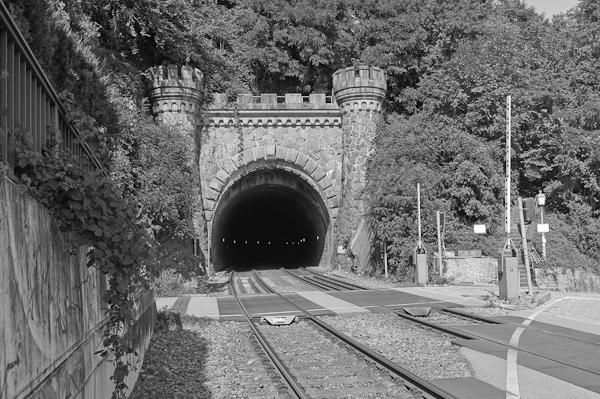 Tunnel in Laufenburg, Deutsche Seite
