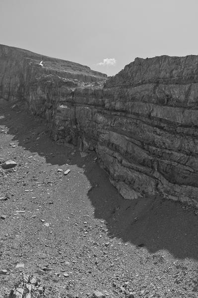 Felsformation beim Chli Rinderhorn