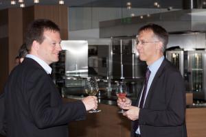 Prof. Dr. Reto Knutti, Departement Umweltsystemwissenschaften im Gespräch mit Reto Gutmann, Direktor Informatikdienste