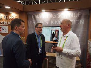 Martin und Thomas Meurer, die Direktoren der europäischen ISC.