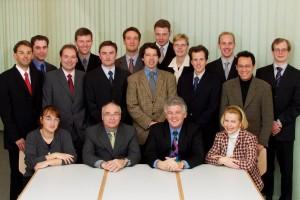 Gruppenbild im BWI (2002)