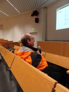 Hörsaal-zu-Hörsaal-Übertragung: Armin Brunner erklärt das Konzept der Übertragungen