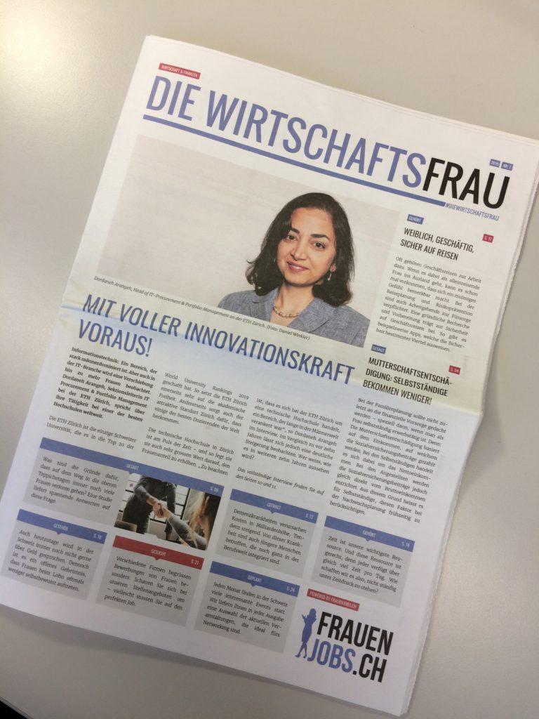 """""""Die Wirtschaftsfrau"""" issue No. 7 / 2019"""