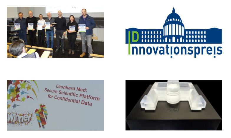 Innovationspreis-Übergabe an der ID-Mitarbeitenden-Info vom 30. Januar 2019
