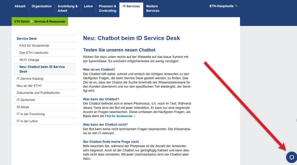 Mit jeder User-Interaktion lernt der Chatbot dazu.