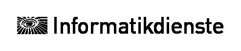 ITS print logo in German