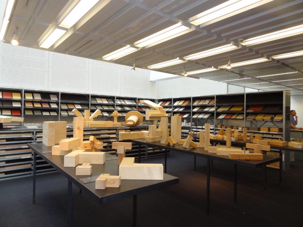 Materialsammlung mal anders: Verschiedene Holzbautechniken in 3D