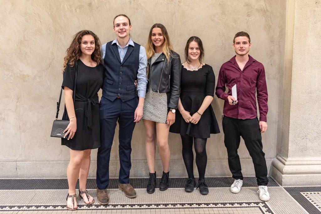 Insgesamt drei Lernende haben dieses Jahr ihren Lehrabschluss bei der ID gemacht