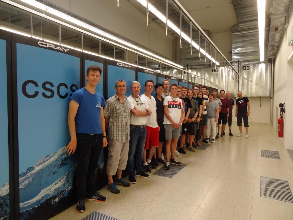 Das IT Lehrlabor im CSCS  Swiss National Supercomputing Centre in Lugano