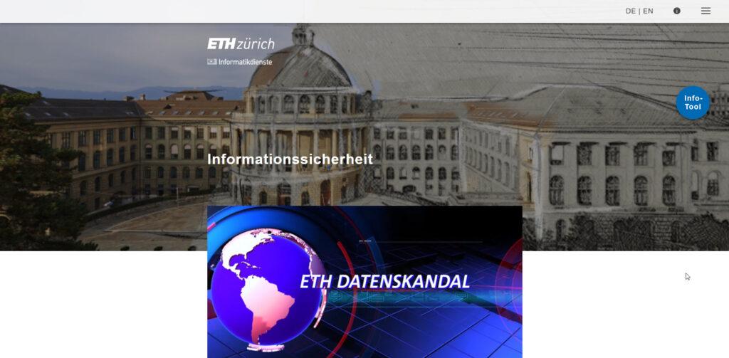 Lernziel der Fallbeispiele: Sie kennen die wichtigsten Massnahmen, um die ETH Zürich und sich vor IT-und Informationssicherheitsvorfällen zu schützen.