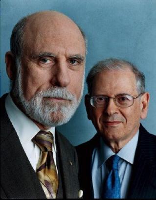Vinton G. Cerf und Robert E. Kahn - Die Erfinder des Internets