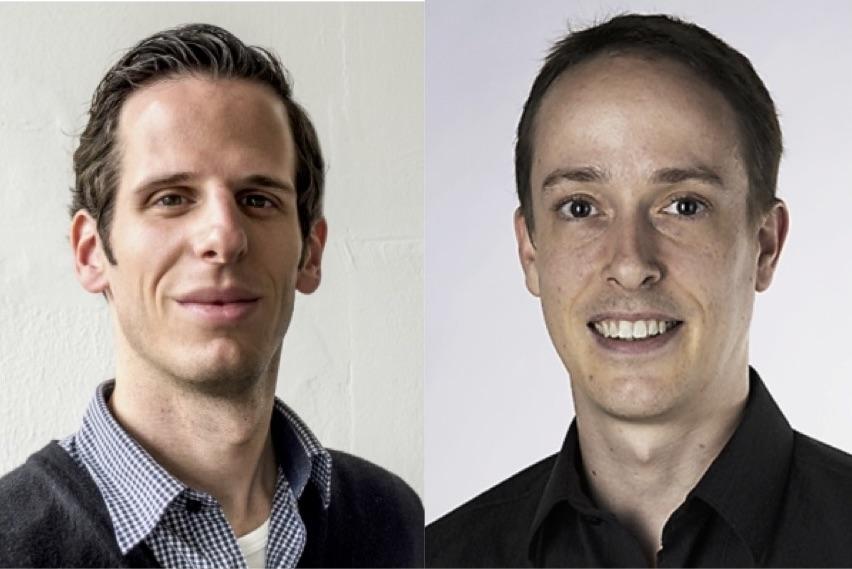 Marc Winkler (links) und Martin Schneider (rechts)