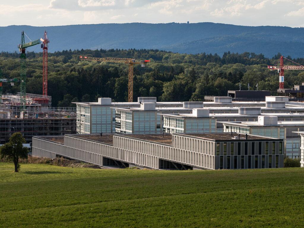 Der Standort des IT Lehrlabors: Das im Jahr 2015 gebaute HCP Gebäude