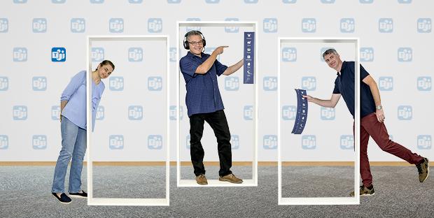 Vertragsverhandlungen 4.0: fundiertes technisches Wissen (Fabio Consani, Mitte), gepaart mit professionellen Vertragsknowhow (Christian Hagen, rechts) führen zu erfolgreichen Vertragsabschlüssen (Dordaneh Arangeh, links)