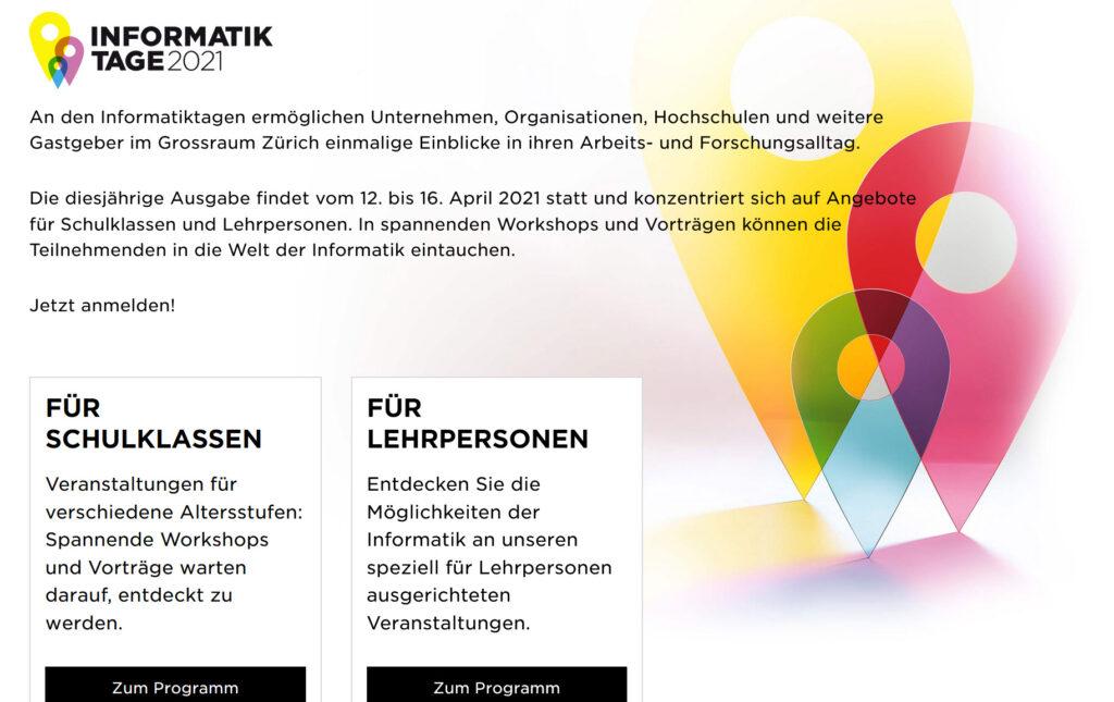 Unternehmen, Organisationen, Hochschulen und weitere Gastgeber im Grossraum Zürich ermöglichen einmalige Einblicke in ihren Arbeits- und Forschungsalltag.