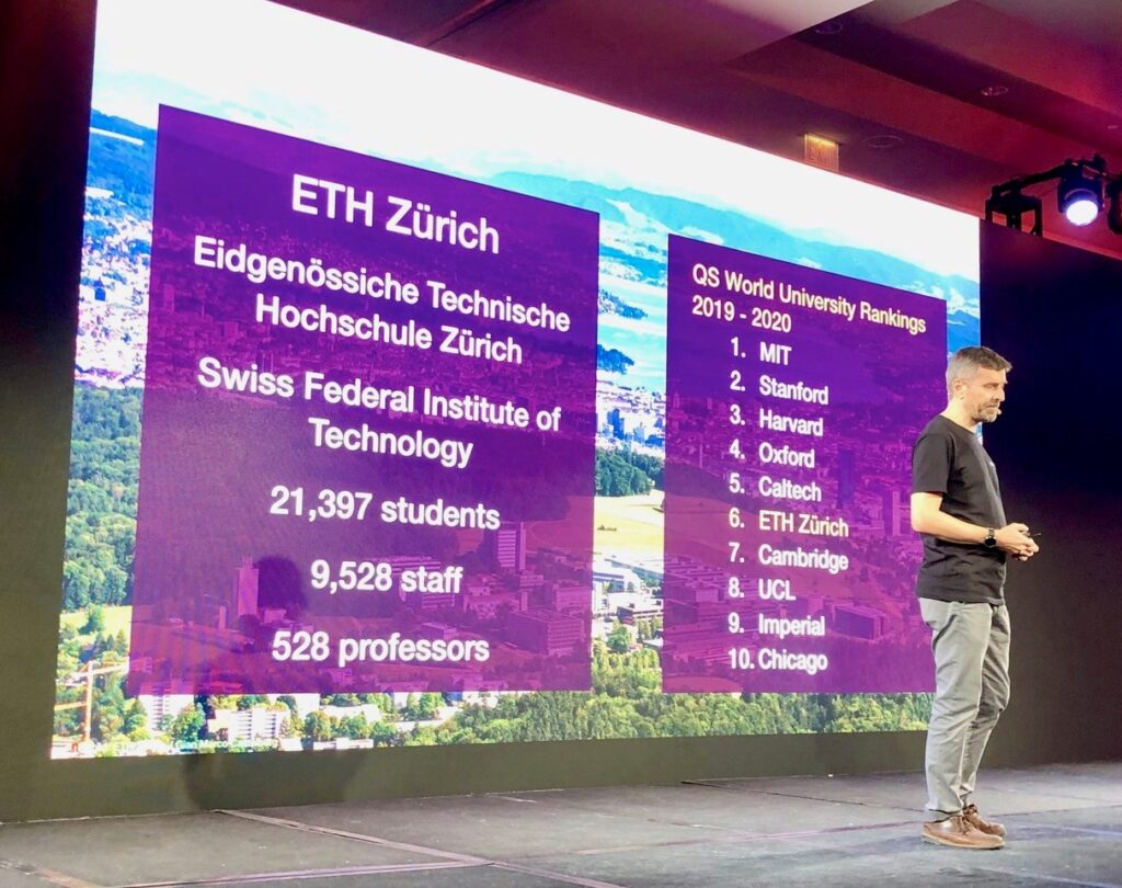 Presenting ETH