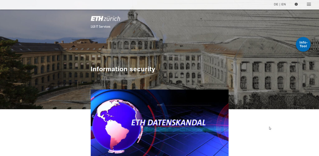 Learning objectives:  You now know the most important measures to take in order to protect ETH Zurich and yourself against any IT security problems.