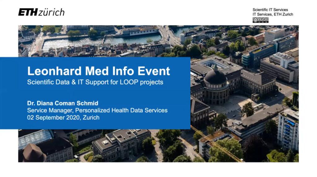 Video Recording Leonhard Med Info Event