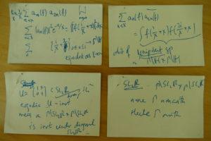 Akshay's cards