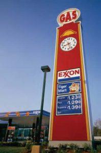 Exxon Gas Station for Disney World