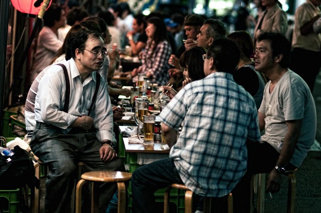 Japan: Drinkommunication, when drinking alcohol is a social obligation
