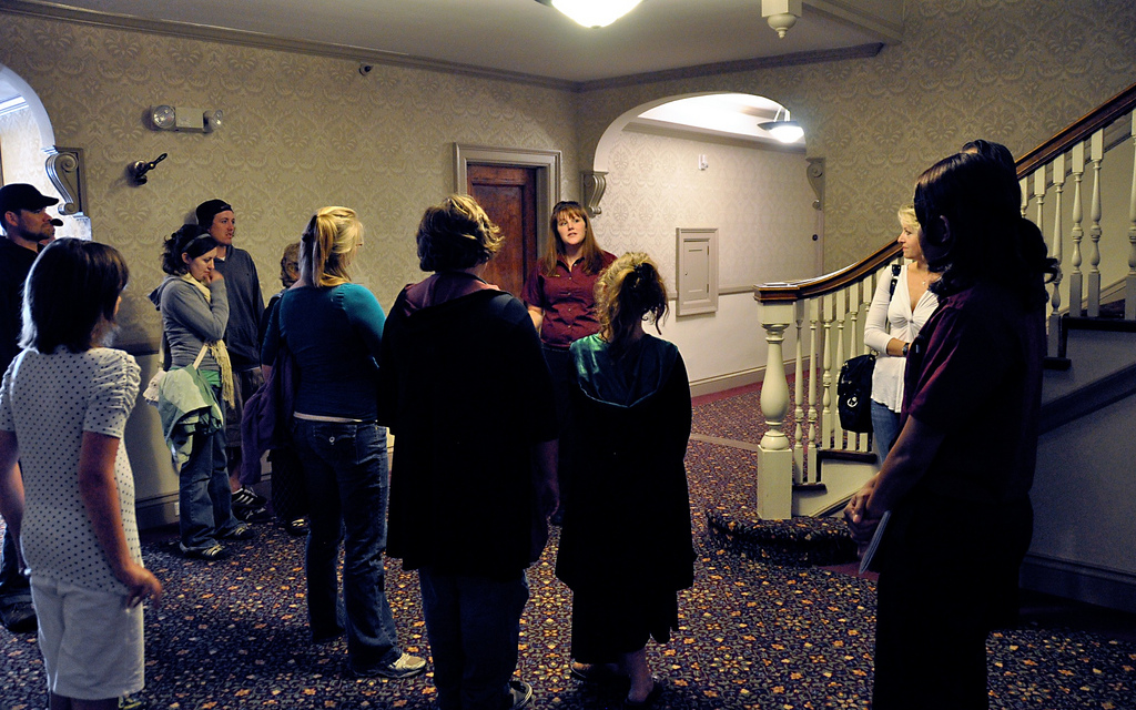 Haunted Tour At The Stanley