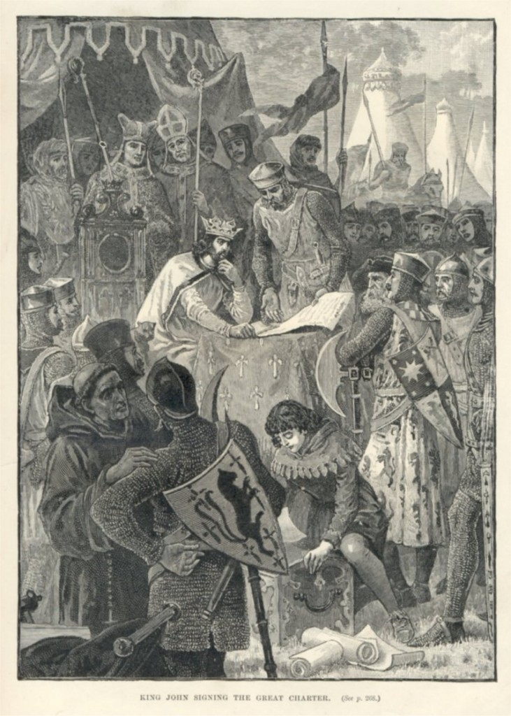 A Quantum City � Magna Carta, Feudal Barons (1215)