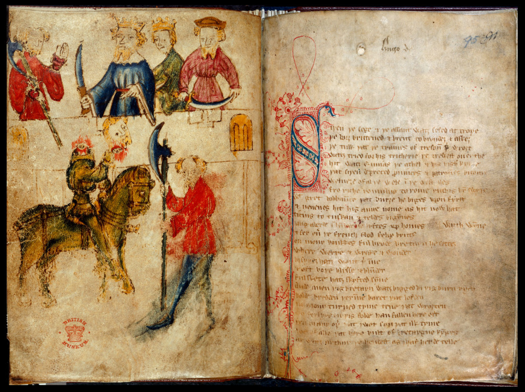 sir gawain and the green knight the realization of sir gawain Sir gawain and the green knight  the knight is ominously giant and green,  gawain's moment of realization is softened in borroff's translation.